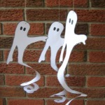 Printable Spiral Ghosts