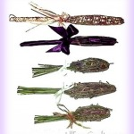lavender wands and bottles