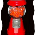 Faux Gumball Machine