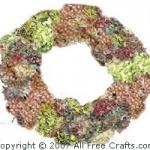 Homemade Dried Hydrangea Wreath