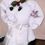Hand Towel Elephant