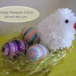Vintage Pompom Chick