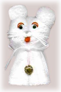washcloth kitten