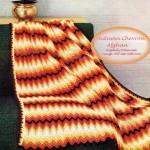 chevron crochet afghan pattern