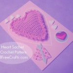 Crocheted Heart Sachet Pattern