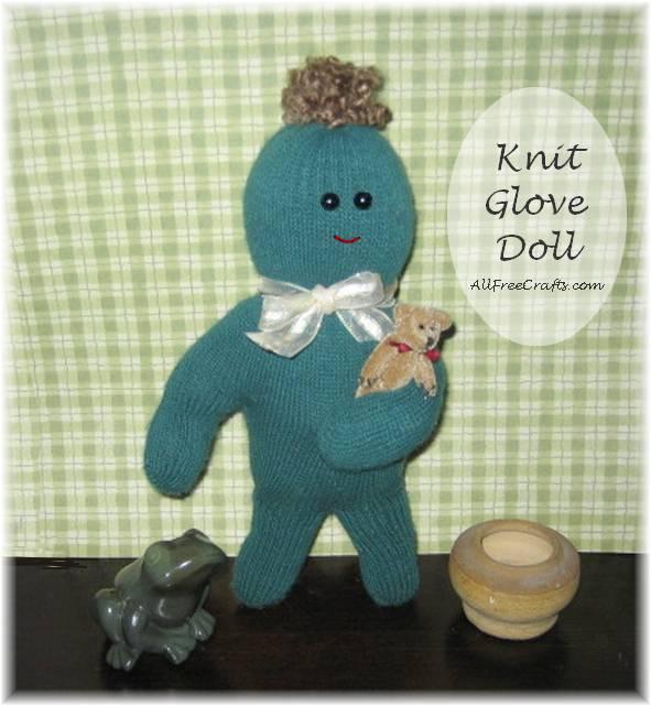Knit Glove Doll