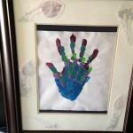 Family Hand Print Art