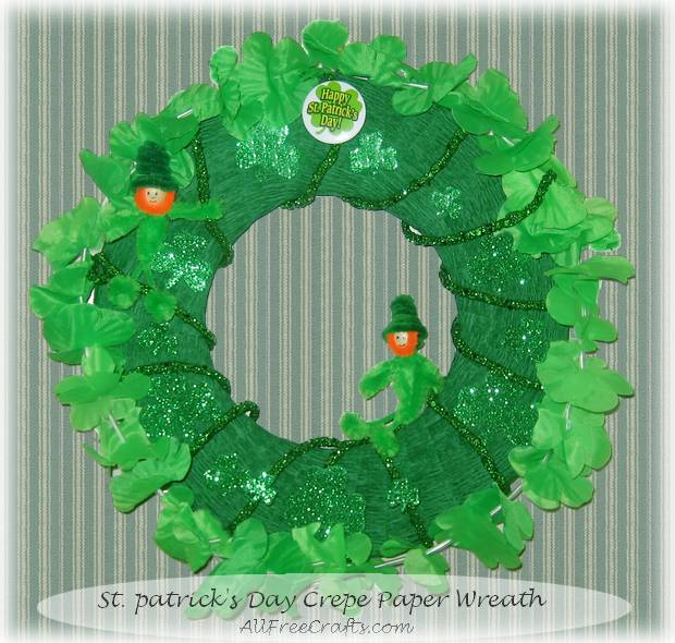 Homemade St Patrick S Day Wreath