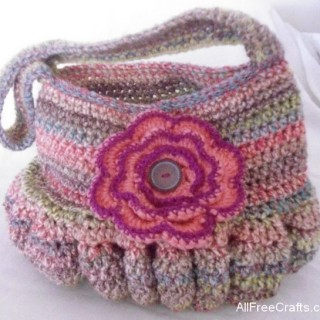 roomy crocheted hobo bag crochet pattern