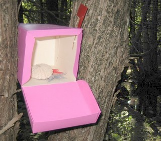 Fairy mail boxes for Little fairy mailbox