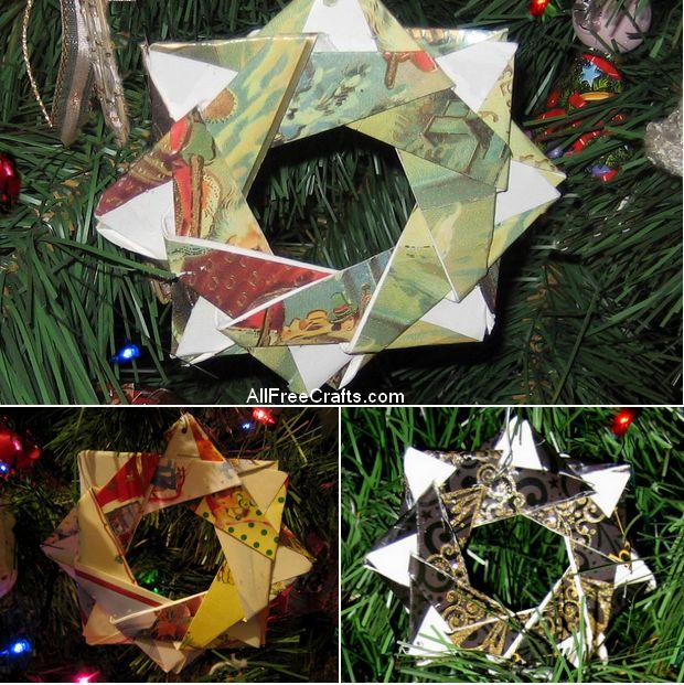 Christmas Card Stars