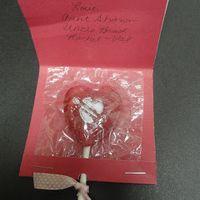 matchbook lollipop sleeve