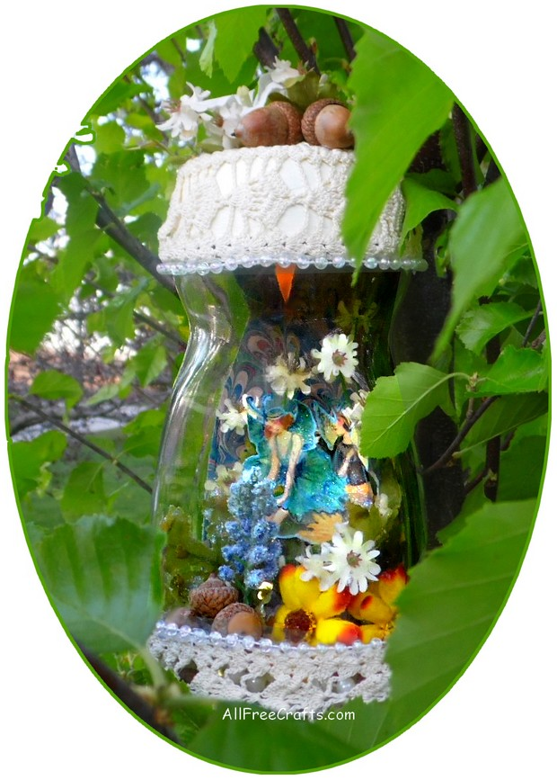 Captured Fairy Jar with Printable Fairies