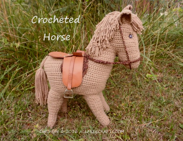 Crocheted Horse