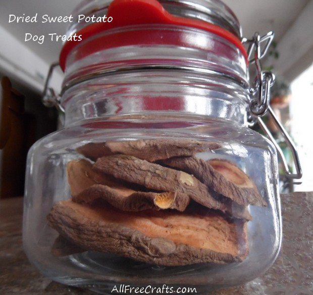 Dried Sweet Potato Treats