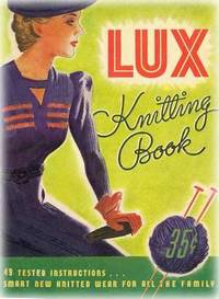 vintage lux knitting book