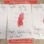 footprint lovebugs