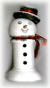 Snowman Patterns - Snowman Ornament - FreeCraftz.com