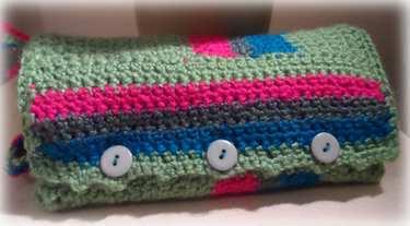 Crochet Cosmetic Bag Pattern