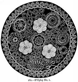 Crochet Galore: April Showers Doily - Free Pattern