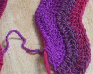 Crochet Pattern Ripple Scarf | Free Patterns For Crochet