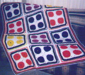 Basketweave Afghan Square - About Knitting – Free