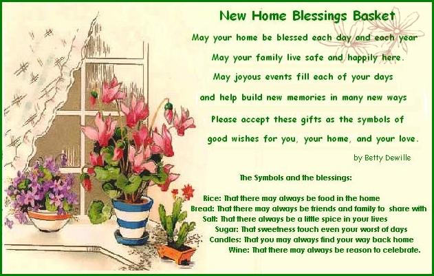Image result for Blessing on your new home quotes