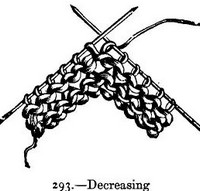 knitting instructions casting off