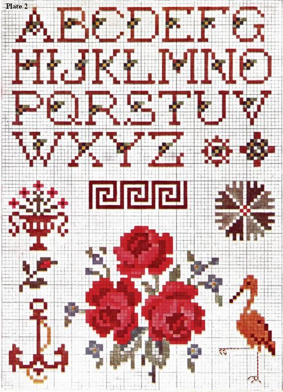 Priscilla Cross Stitch All Free Crafts