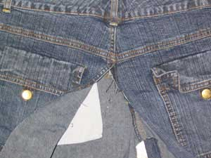 jean skirt sewing pattern 1909