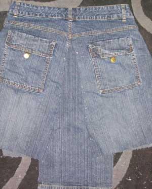 jean skirt sewing pattern 1919