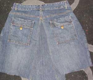 jean skirt sewing pattern 1920