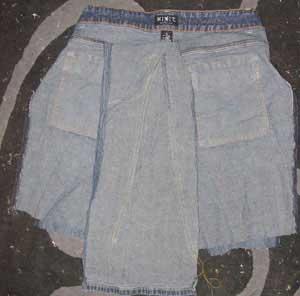 jean skirt sewing pattern 1922