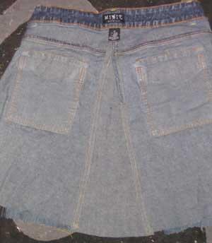 jean skirt sewing pattern 1924