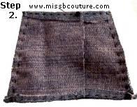 barbie blue jeans skirt pattern