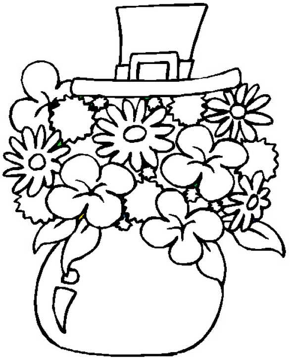 st patricks day shamrock coloring pages | Coloring Pages for St. Patrick's Day
