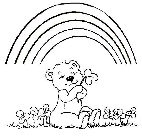 teddy bear coloring pages in for click to see printable version