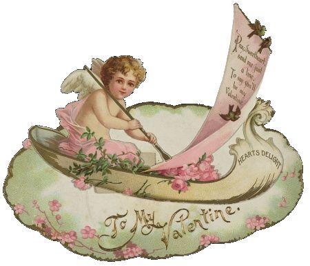 Homemade Victorian Valentine Cards – Victorian Valentine Card